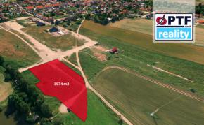 Prodej stavebního pozemku 3 574 m2, Líně