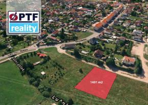 Prodej stavebního pozemku 1 401 m2, Líně